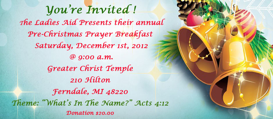 Youth Prayer Breakfast Themes And Scriptures Picture | cmsfc.com